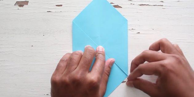 Өз қолыңызбен конверт: дұрыс бұрыш жасаңыз