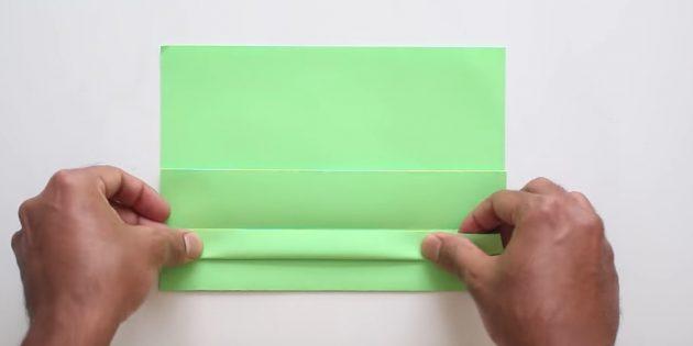 Tutkalsız kendi ellerinizle zarf: bir şerit yap