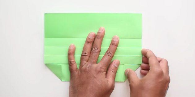 Өз қолыңызбен конверт желімсіз: бұрыштарды жасаңыз
