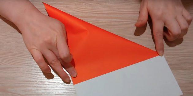 Kağıt üzerinde işaretler yapın