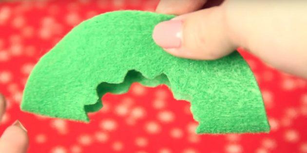 Julleksaker gör det själv: Gör ett mönster på en detalj