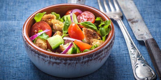 """Bagaimana untuk memasak salad """"Pantsell"""""""