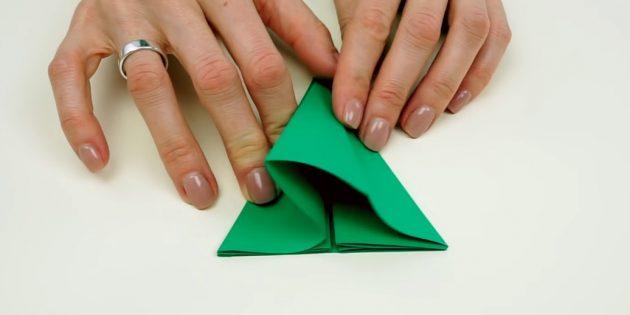 Faça você mesmo com suas próprias mãos: papel dobrado
