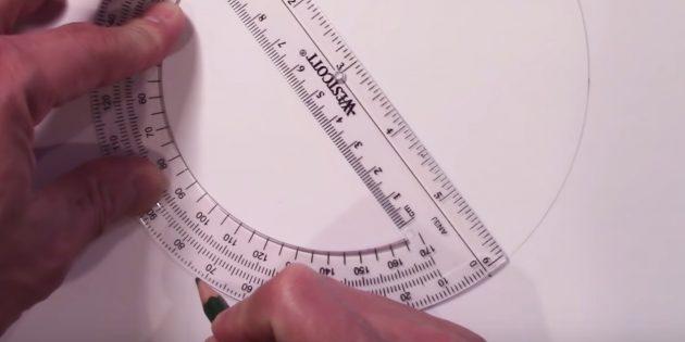 별표를 그리는 방법 : 네 번째 표시를하십시오.