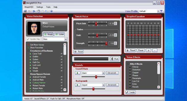 Προγράμματα αλλαγής φωνής: Morphvox JR και Morphvox Pro