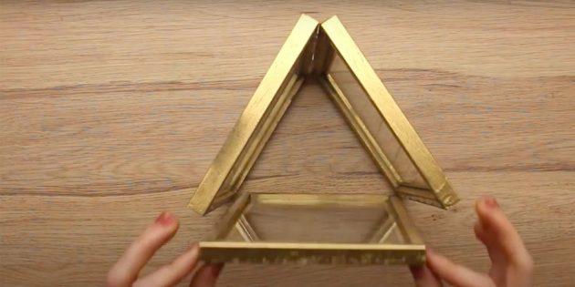 Bir şamdan nasıl yapılır, kendiniz yapın: Çerçeveyi yapıştırın