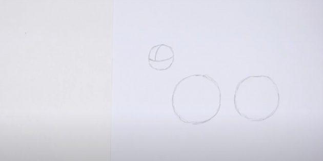 Kuinka piirtää hirvi: Piirrä kolmas kierros linjat sisällä