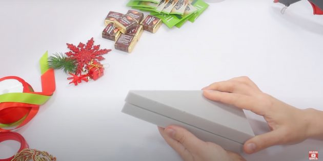 Новогодние подарки своими руками: склейте треугольники