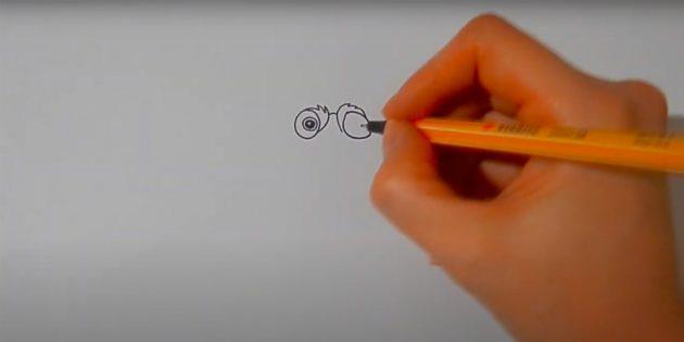 Қабыршақтарды қалай салу керек: бір оқушы қосыңыз