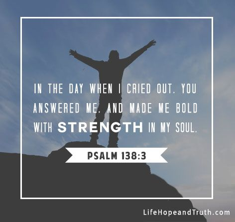 7 Encouraging Bible Verses About God's Strength