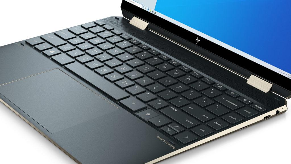 HP Spectre x360 keyboard