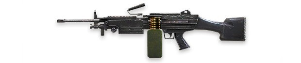 FREE FIRE M249
