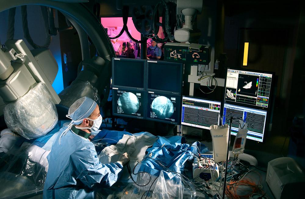 Electrophysiology Lab Healthcare Nat Clymer Photography LLC