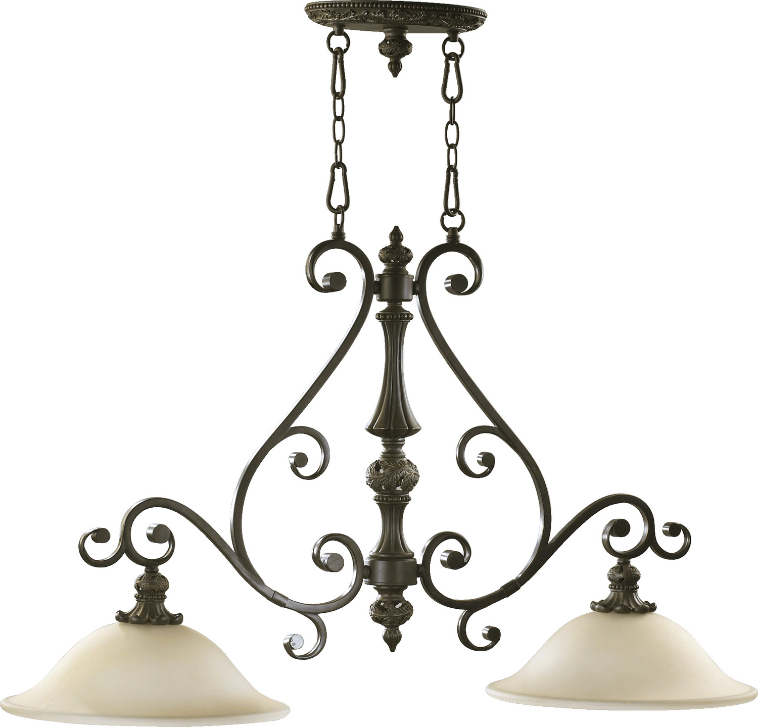 four light chandelier from the byron collection by troy lighting f2995