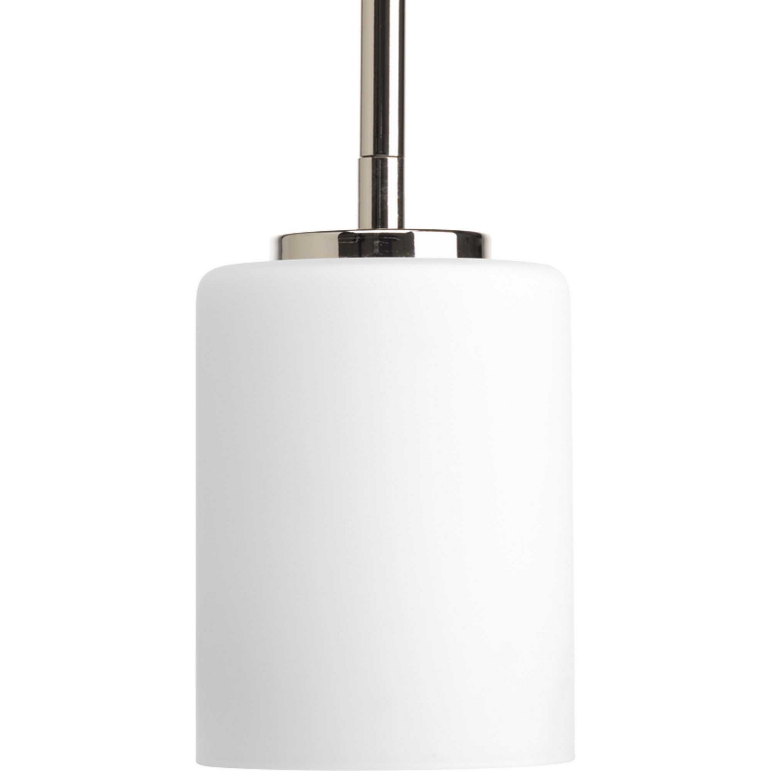 progress lighting one light mini pendant in polished nickel from the replay collection p5170 104