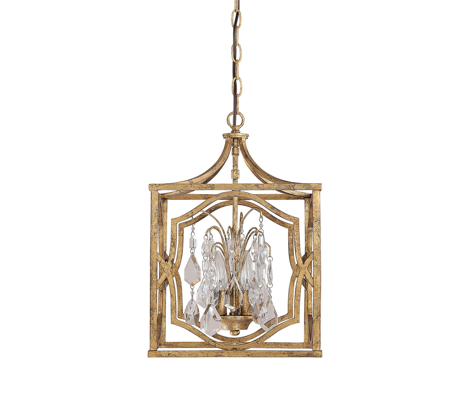 four light hanging lantern from the raley collection by hinkley 1602mb ll