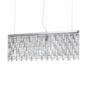 Con la catena, pende dal soffitto per cm. Ideal Lux Luxury Lampadari Gocce Cristallo Light Shopping