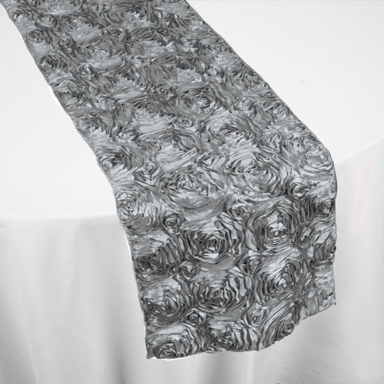 Silver Roses Table Runner By Chair Covers Amp Linens
