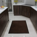 Details About The Rug House Non Slip Dark Brown Black Door Mats Rubber Backed Kitchen Mat