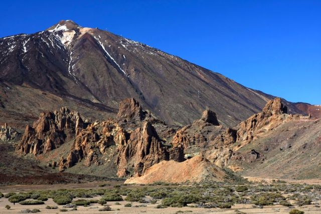 Mt Teide on the enticing island of Tenerife