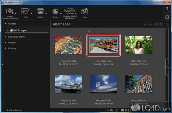 ImageBrowser EX - Download