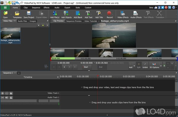 VideoPad Video Editor (Full Version) - Download