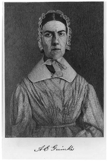Angelina Emily Grimké (1805-1879)