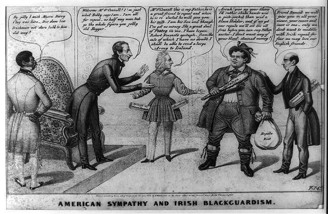 American sympathy and Irish backguardism