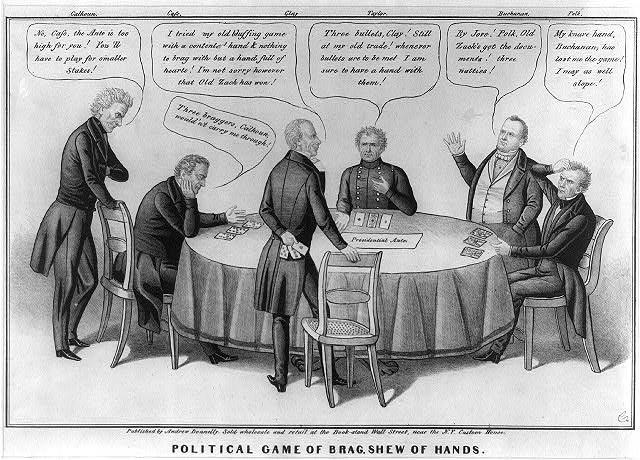 Political cartoon, 1848