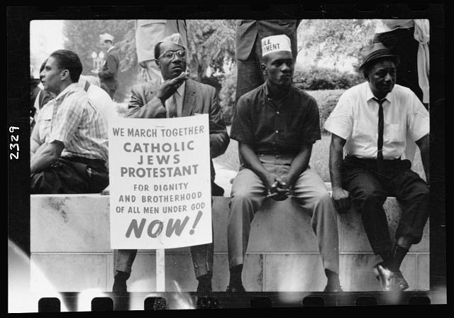 [The civil rights march from Selma to Montgomery, Alabama in 1965]