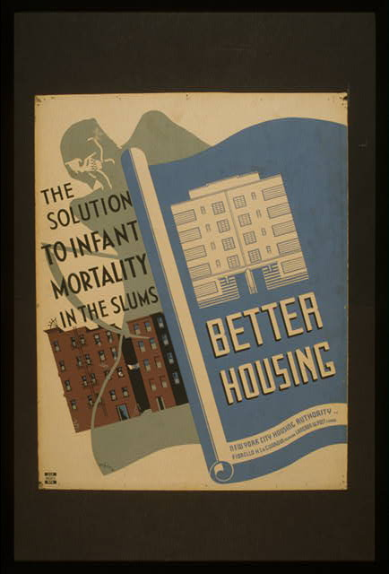 Better housing The solution to infant mortality in the slums /