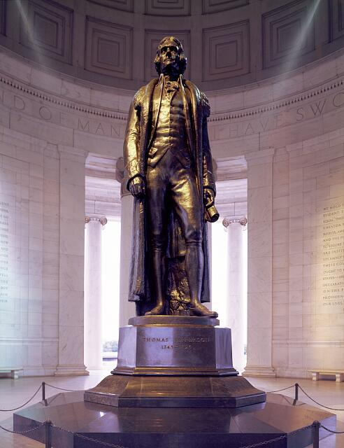 Statue of Thomas Jefferson in the Jefferson Memorial - Mr. Lant's HIstory page
