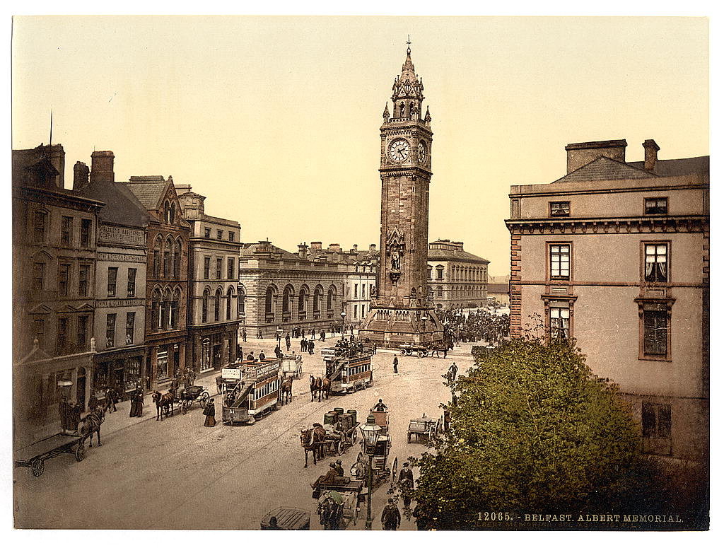 Image result for photochrom ireland photos antrim royal ave