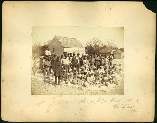 Slaves of the rebel Genl. Thomas F. Drayton, Hilton Head, S.C.
