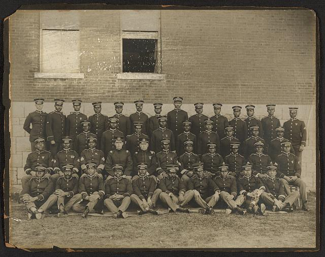 [Company I, 24th Infantry regiment officers]