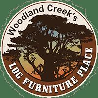 Montana Half Log Bench Rustic Pine Furniture