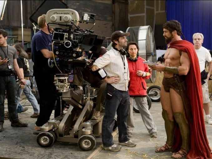 20 Behind-The-Scenes Photographs From Famous Movie Sets
