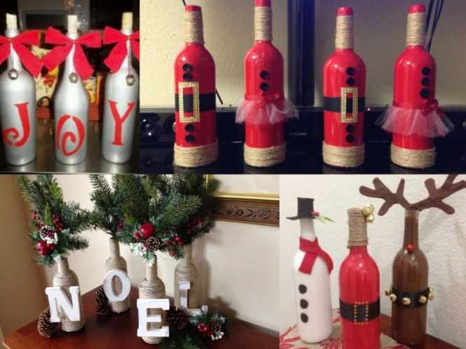 Wine Cork Craft Ideas For Gifts Decorative Painted Bottle