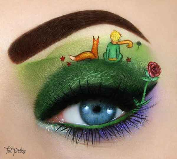 10 of the most amazing eye makeup art ever 1 - 10 Of The Most Amazing Eye Makeup Art Ever