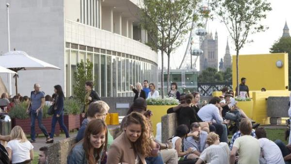 roof garden cafe bar queen elizabeth Queen Elizabeth Hall Roof Garden and Cafe at Southbank