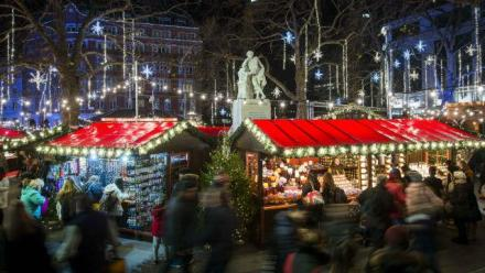 Image result for leicester square christmas market