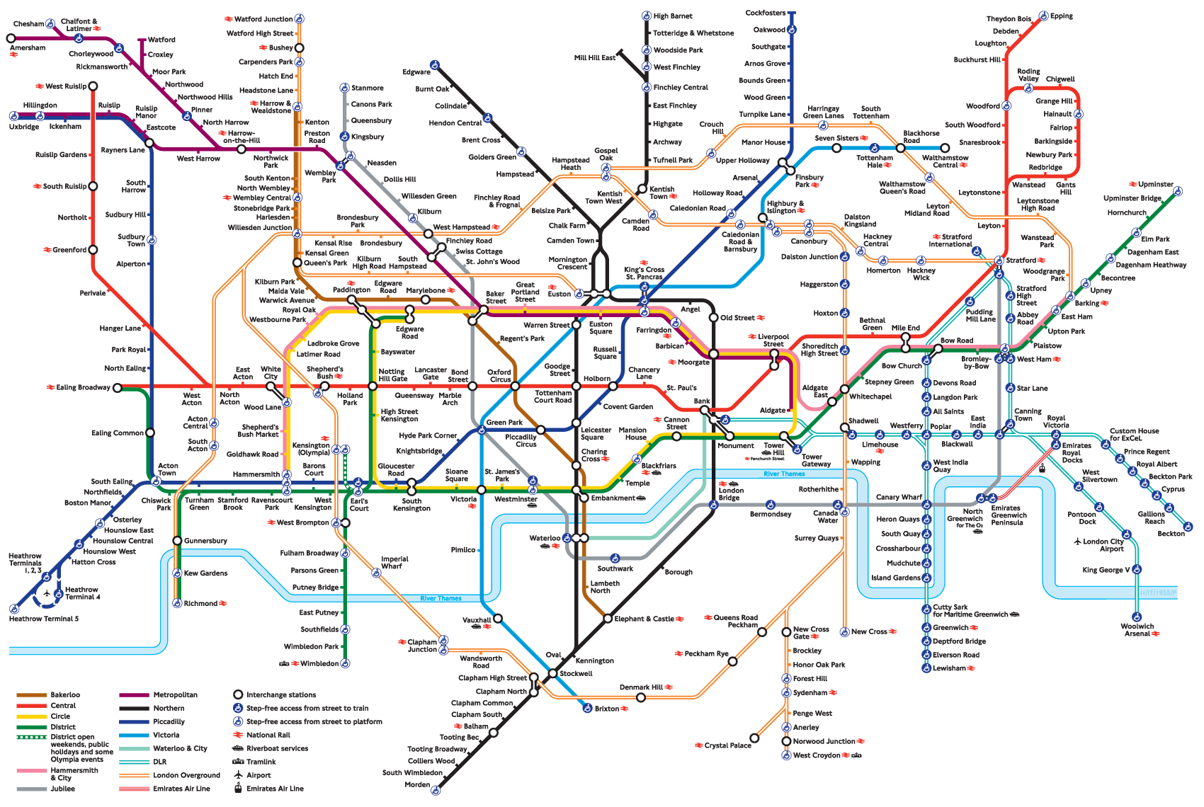 Image result for tube map