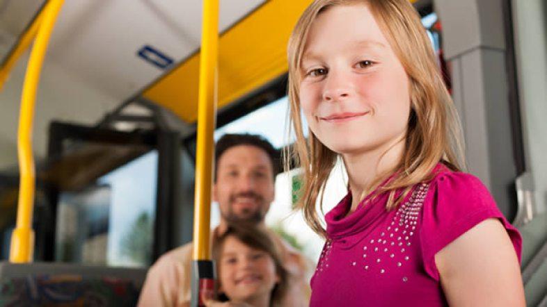 Image result for kids public transport