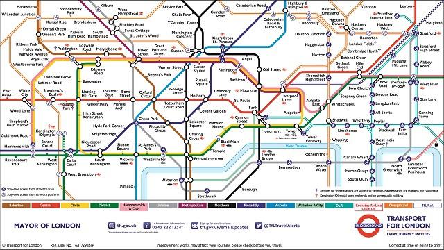 Resultado de imagem para the tube london