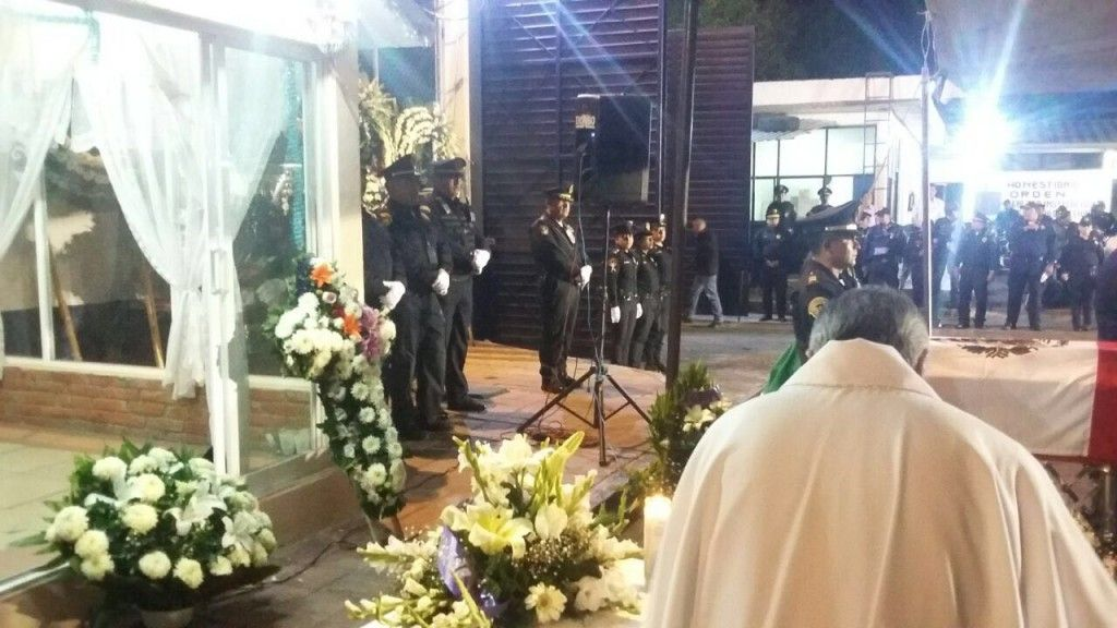 El funeral de Juan Campos Palma, policía atropellado