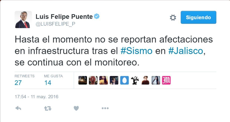 Luis Felipe Puente Tuit
