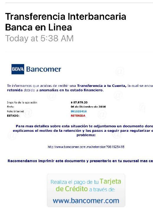 fraude bancomer