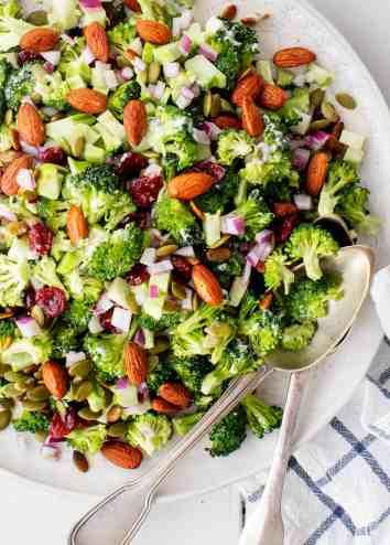 Best Broccoli Salad Recipe - Love and Lemons