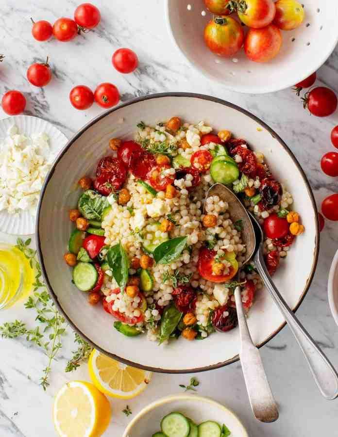 Tomato summer salad recipe
