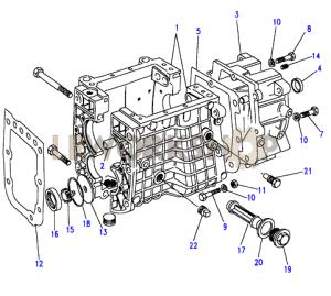 Gearcase  Find Land Rover parts at LR Workshop